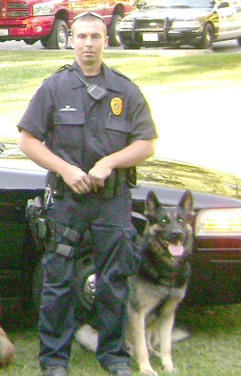 Citrus Heights P.D. Teams Officer Hatchell & Zeus