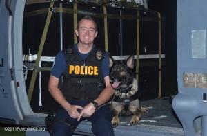 Officer Kevin Tonn & K9 Yaro