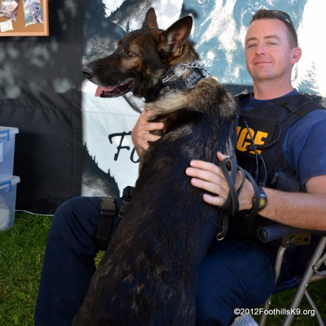 Officer Kevin Tonn & K9 Yaro